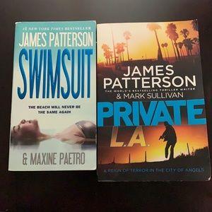 Set of 2 James Patterson books